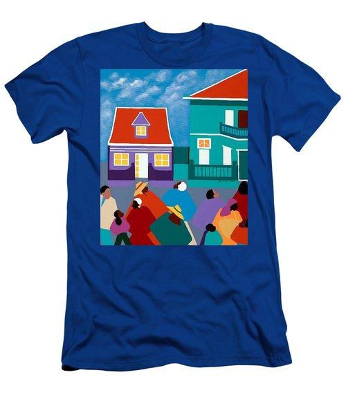 Curacao Dreams II Men's T-Shirt (Athletic Fit)