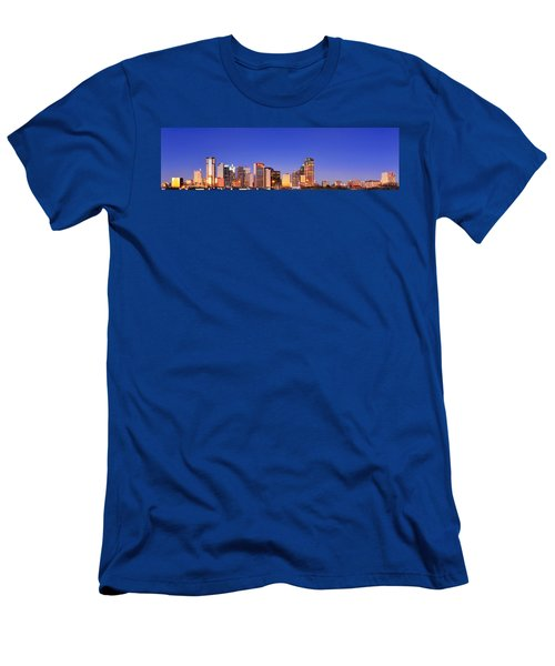 Dallas At Dawn Men's T-Shirt (Athletic Fit)