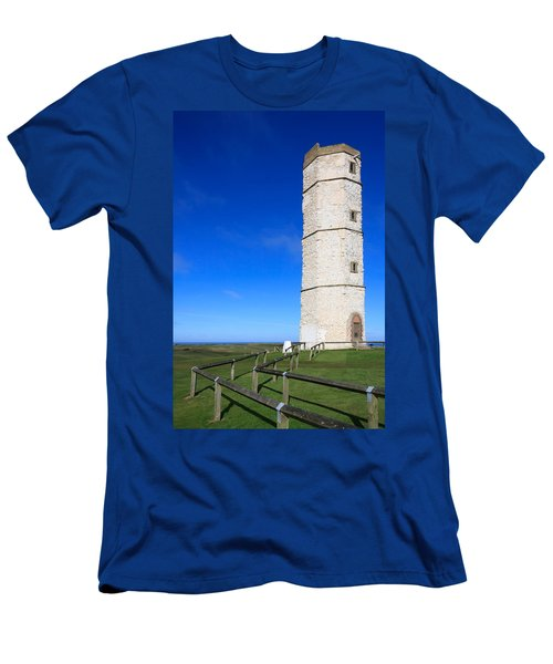 Flamborough Old Lighthouse Men's T-Shirt (Athletic Fit)