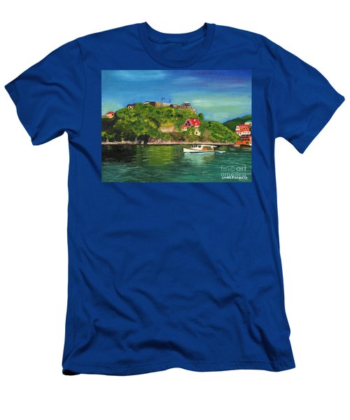 Fort George Grenada Men's T-Shirt (Athletic Fit)