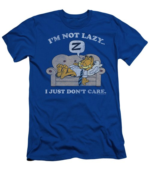 Garfield - Not Lazy Men's T-Shirt (Athletic Fit)