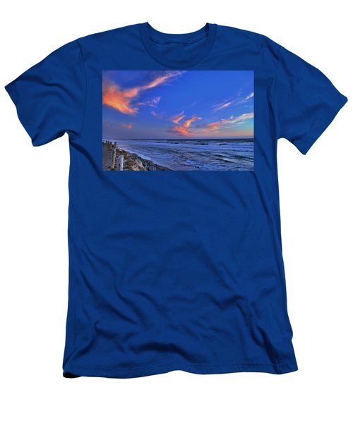 Great Highway Sunset Men's T-Shirt (Athletic Fit)