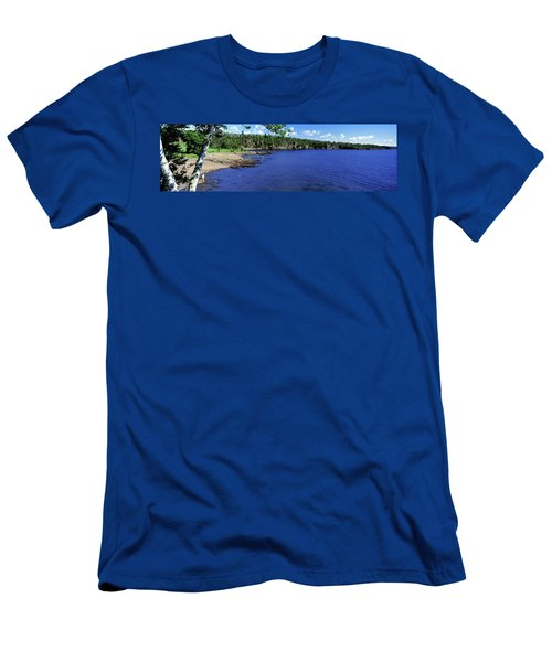 Lake View, Lake Superior, Duluth Men's T-Shirt (Athletic Fit)