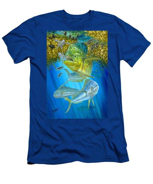 Mahi Mahi Hunting In Sargassum Men's T-Shirt (Athletic Fit)