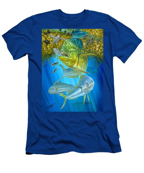 Mahi Mahi Hunting In Sargassum Men's T-Shirt (Athletic Fit)