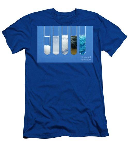 Metal Carbonate Precipitates Men's T-Shirt (Athletic Fit)
