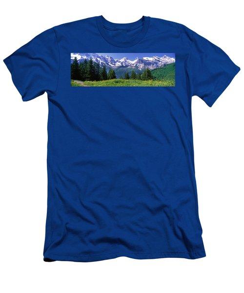 Murren Switzerland Men's T-Shirt (Athletic Fit)