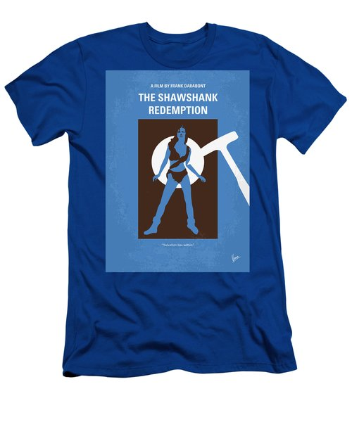 No246 My The Shawshank Redemption Minimal Movie Poster Men's T-Shirt (Athletic Fit)