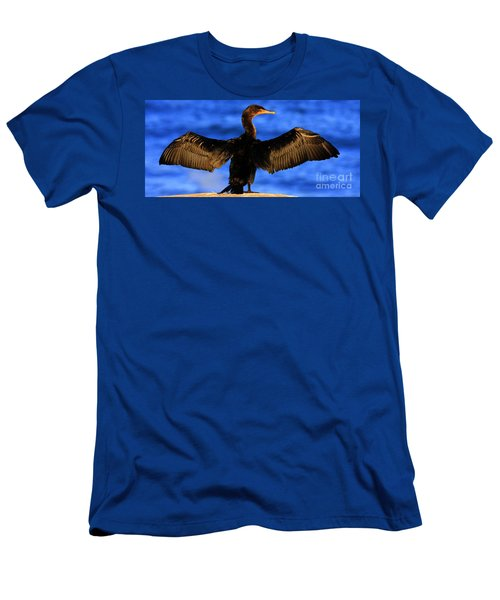 California Blue Men's T-Shirt (Athletic Fit)