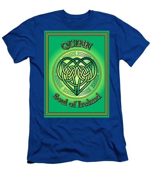 Quinn Soul Of Ireland Men's T-Shirt (Athletic Fit)