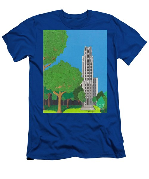 The Cathedral Of Learning Men's T-Shirt (Athletic Fit)