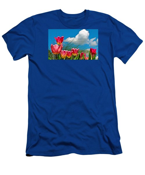 Flower 8 Men's T-Shirt (Athletic Fit)