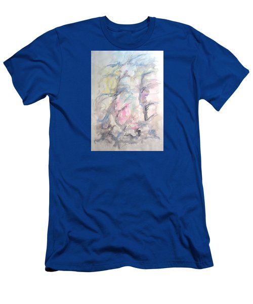 Two Trees In The Wind Men's T-Shirt (Athletic Fit)