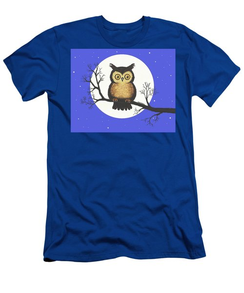 Whooo You Lookin' At Men's T-Shirt (Athletic Fit)