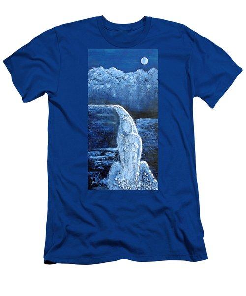 Winter Goddess Men's T-Shirt (Athletic Fit)