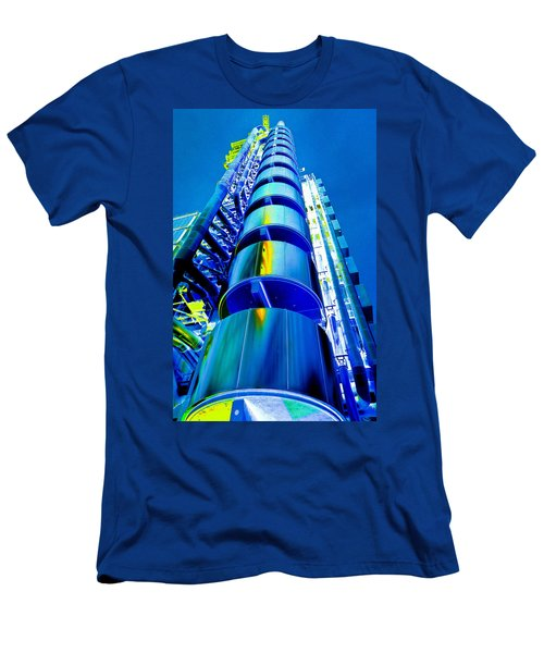 Lloyd's Building London Art Men's T-Shirt (Athletic Fit)