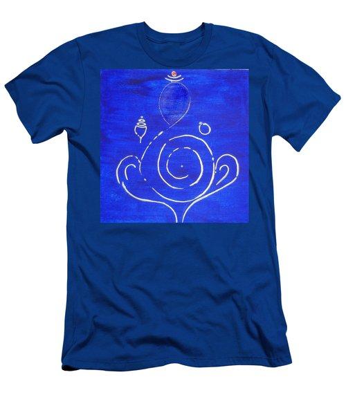 16 Ganesh Men's T-Shirt (Slim Fit) by Kruti Shah