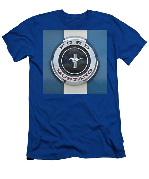 1966 Shelby Gt 350 Emblem Gas Cap Men's T-Shirt (Athletic Fit)