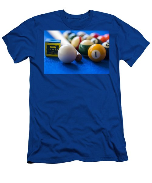 Billiard Balls Men's T-Shirt (Athletic Fit)