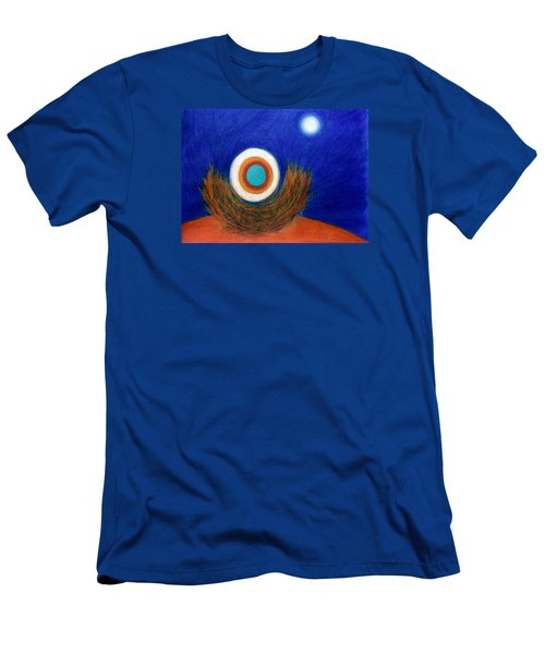 Nesting Moon Men's T-Shirt (Athletic Fit)