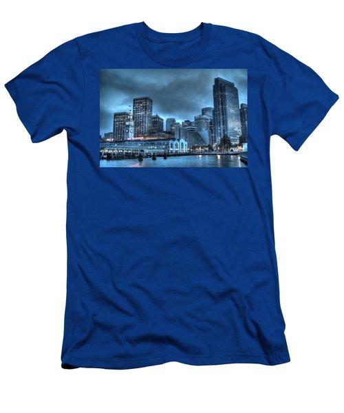 Port Of San Francisco Men's T-Shirt (Athletic Fit)