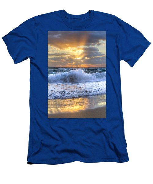 Splash Sunrise Men's T-Shirt (Athletic Fit)