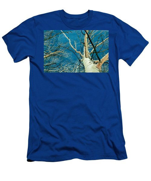 Men's T-Shirt (Slim Fit) featuring the painting Standing Ovation 2 by Barbara Jewell