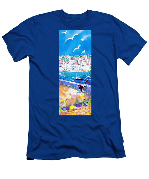 Sunset In Costa Brava Men's T-Shirt (Athletic Fit)