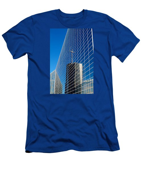 Men's T-Shirt (Slim Fit) featuring the photograph The Crystal Cathedral by Duncan Selby