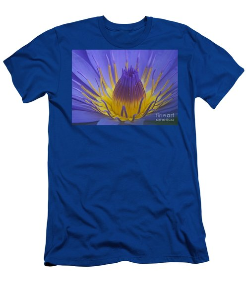 Tropic Water Lily 16 Men's T-Shirt (Slim Fit) by Rudi Prott