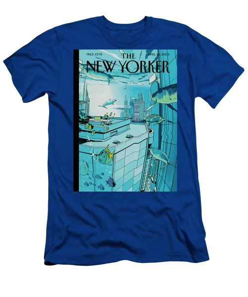 New Yorker April 25th, 2005 Men's T-Shirt (Athletic Fit)