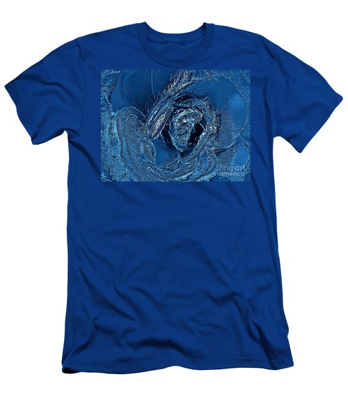 Water Rose Men's T-Shirt (Athletic Fit)