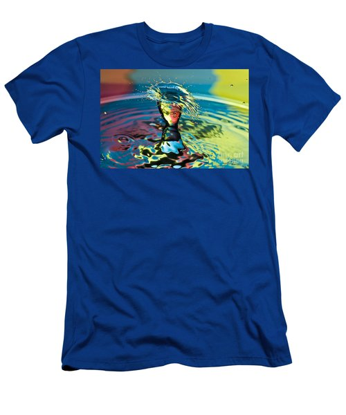 Water Splash Having A Bad Hair Day Men's T-Shirt (Athletic Fit)
