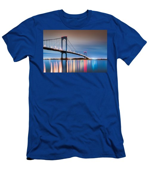 Whitestone Bridge Men's T-Shirt (Athletic Fit)