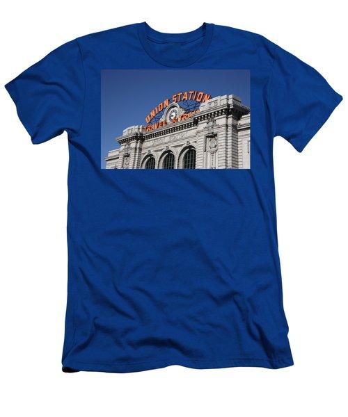 Denver - Union Station Men's T-Shirt (Athletic Fit)