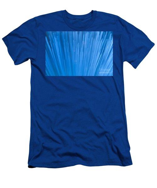Fiber Optics Close-up Abstract Men's T-Shirt (Athletic Fit)