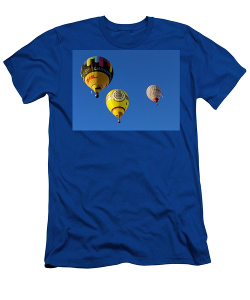 3 Hot Air Balloon Men's T-Shirt (Athletic Fit)
