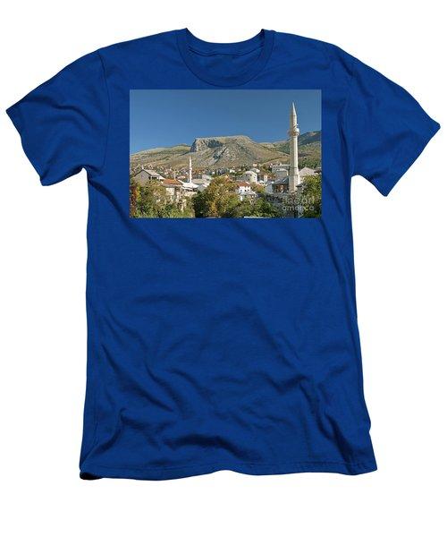 Mostar In Bosnia Herzegovina Men's T-Shirt (Athletic Fit)