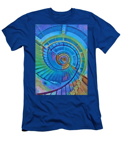 Stairway To Lighthouse Heaven Men's T-Shirt (Athletic Fit)