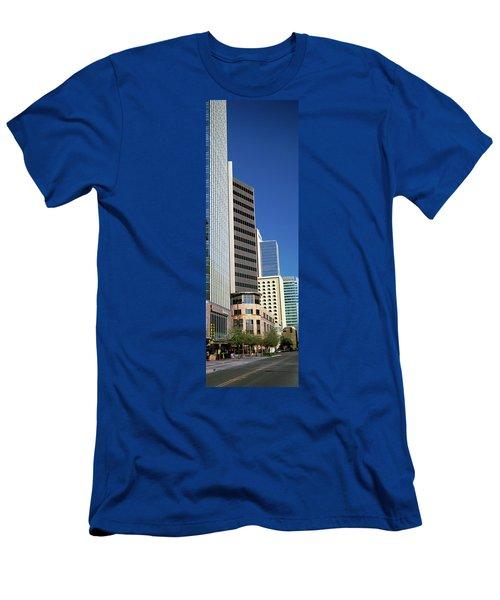 Downtown Buildings Of Phoenix, Maricopa Men's T-Shirt (Athletic Fit)