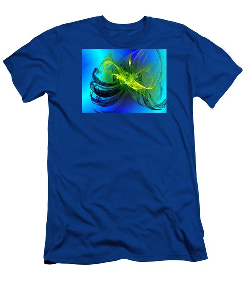 Men's T-Shirt (Slim Fit) featuring the digital art 47 by Jeff Iverson