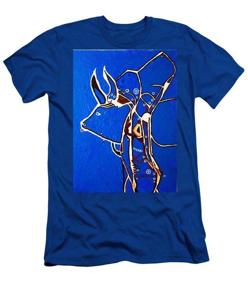 Dinka Livelihood - South Sudan Men's T-Shirt (Athletic Fit)