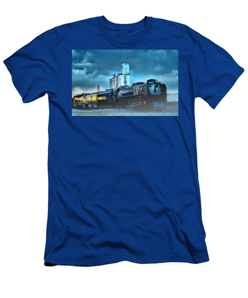 844 Night Train Men's T-Shirt (Athletic Fit)