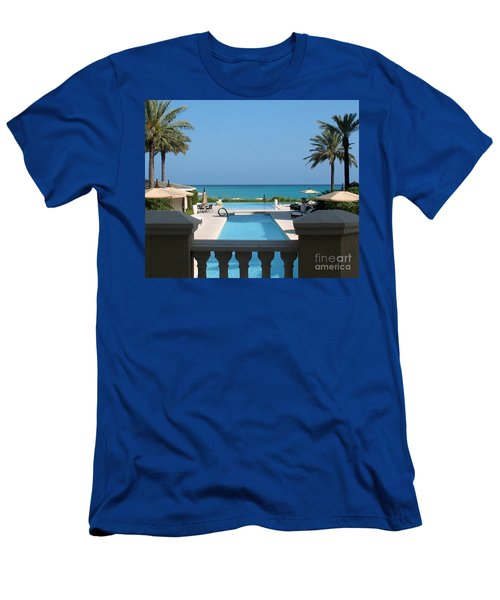 A Beautiful View Men's T-Shirt (Athletic Fit)