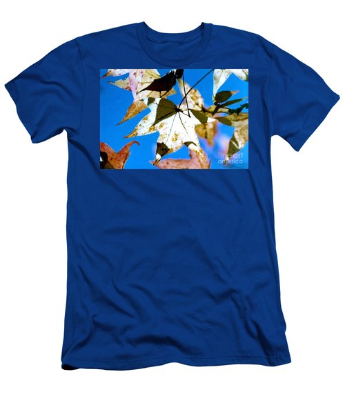 Men's T-Shirt (Slim Fit) featuring the photograph Autumn  In New Orleans Louisiana by Michael Hoard