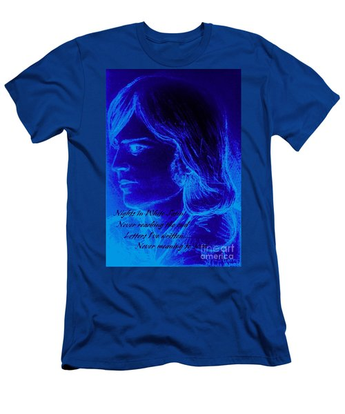 A Moody Blue Men's T-Shirt (Athletic Fit)