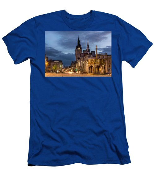 Aberdeen At Night Men's T-Shirt (Athletic Fit)