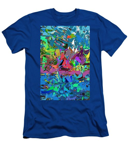 Abstract 011515 Men's T-Shirt (Slim Fit) by David Lane