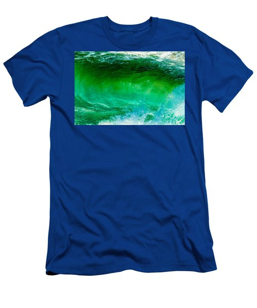 Abstract Wave 3 Men's T-Shirt (Athletic Fit)