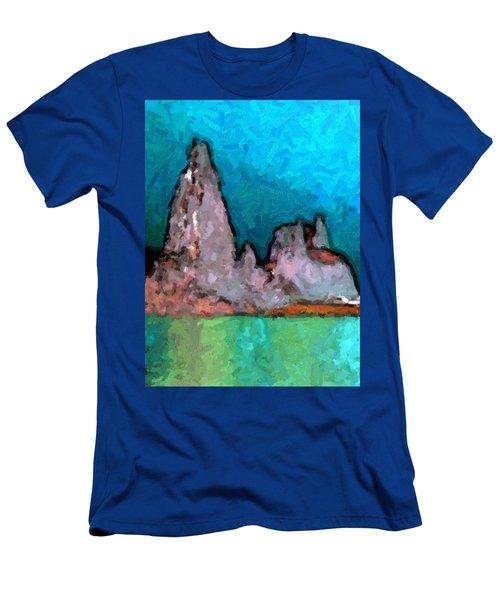 Acid Lake Men's T-Shirt (Athletic Fit)